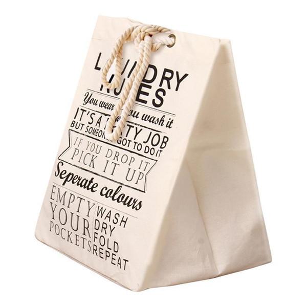 Cordón Tote Moda Algodón Bolsa Cuadrado Lienzo Plegable Compras Shopper Cesta Ropa de almacenamiento Bolsas Casual Bolso Totes Bolsa