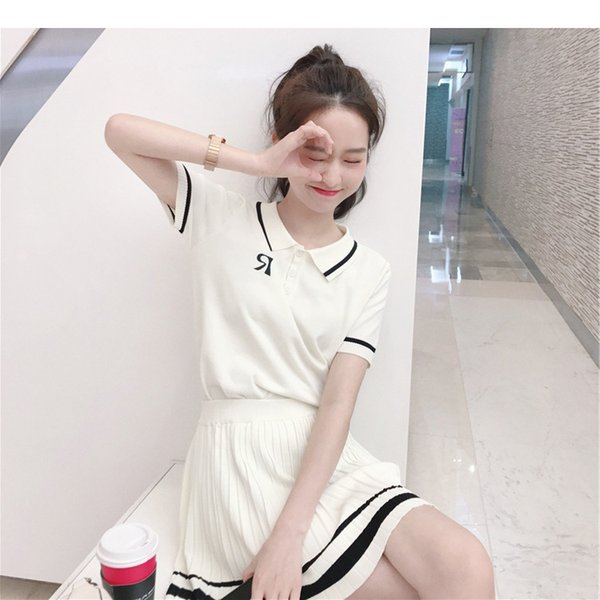 Women Tracksuits 2019 Spring & Summer Active Casual Pure Color Breathable Panelled Preppy Style Tracksuits Polyester Size Free