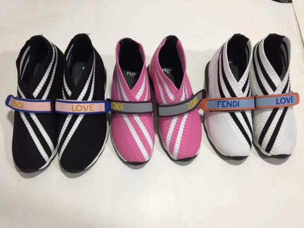 2019 famous brand fashion luxury designer ladies casual shoes imported elastic weaving fabric fabric is extremely comfortable