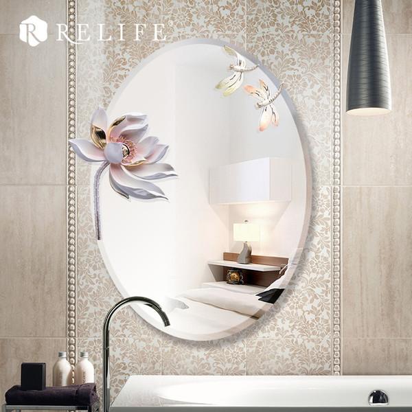 Compre Decoração Do Espelho Da Parede Do Projeto Moderno Da Decoração Home De 3d Lotus Grande Para O Banheiro De Hobarte 25608 Ptdhgatecom