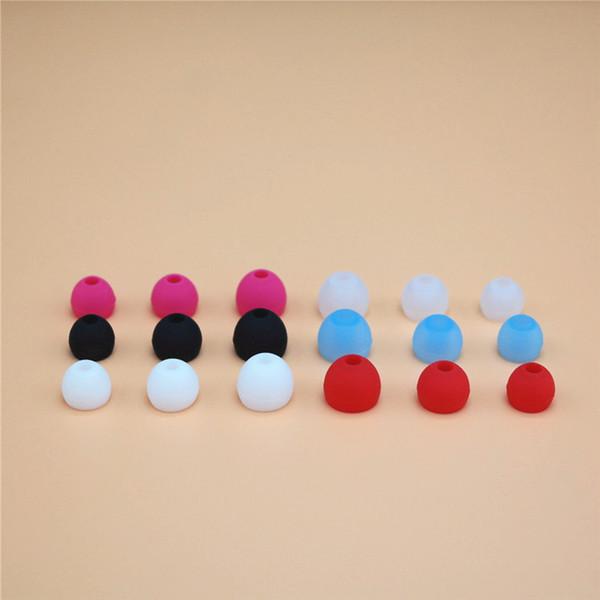 Reemplazo de tapones de botón de silicona de color azul Auricular tapón de reemplazo Para todos los modelos Auriculares intrauditivos Auriculares de alta calidad