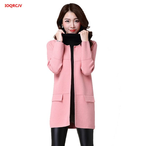 Cardigan Coat Sweaters 2019 2019 Women'S Knitted Plus Dennicome Long Female Size Cardigans Outerwear Women Spring Lady'S Sweater 645 Autumn From For cLA35Rjq4S