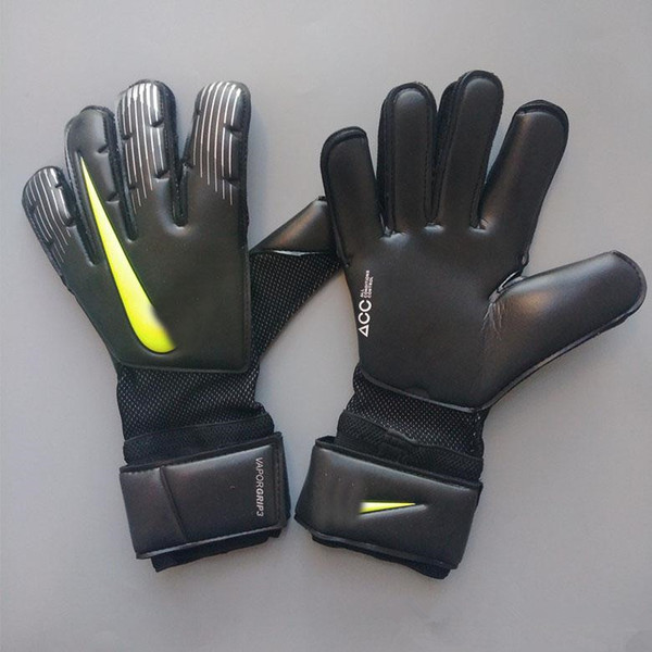 top popular 2020 VG3 models football Soccer Goalkeeper Gloves Goal Keeper Luvas Goalie Football Bola De Futebol Gloves Luva De Goleiro wholesale price 2021