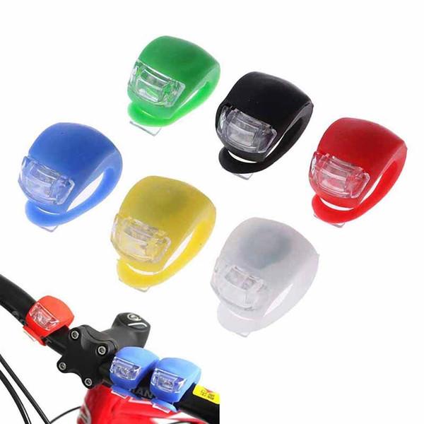 Wasserdichte 5LED Fahrrad Rücklicht Licht hinten Warnung für Nacht Bike Rad FG#1