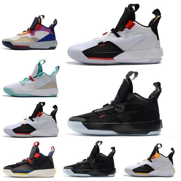 33 мужская баскетбольная обувь 33s PE Future Flight Guo Ailun Tech Pack Видимая утилита Blackout XXXIII мужчины дизайнер Спортивные кроссовки US7-12