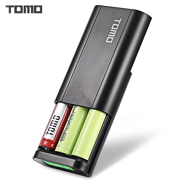 TOMO T3 DIY Smart Power Bank 3 x 18650 Li-ion Battery Micro USB 8 Pin Dual Input / Output Charger