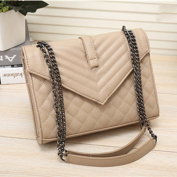 top popular 2019 Fashion women famous casual designer Messenger Bag Women Cross Body chain Bag Handbag Satchel Purse Cosmetic Bags 2021