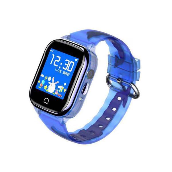 Aj530 Kinder GPS-Telefon Uhr durchscheinend Augenschutz HD Touchscreen Tiefe wasserdichte Kamera Smart Watch