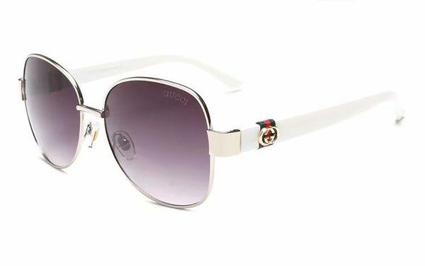 2019 Nueva perla gafas de sol con montura grande de la marca C 2039 con logotipo diseñador de moda, mujeres de lujo, gafas de sol, gafas de sol de conducción