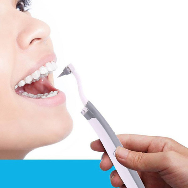 Sonic Tooth Pic Elétrica Sonic Pic Tooth Stain Kit Ferramenta de Borracha Tooth pen Teeth Placa Removedor de Limpeza Dental FFA1876