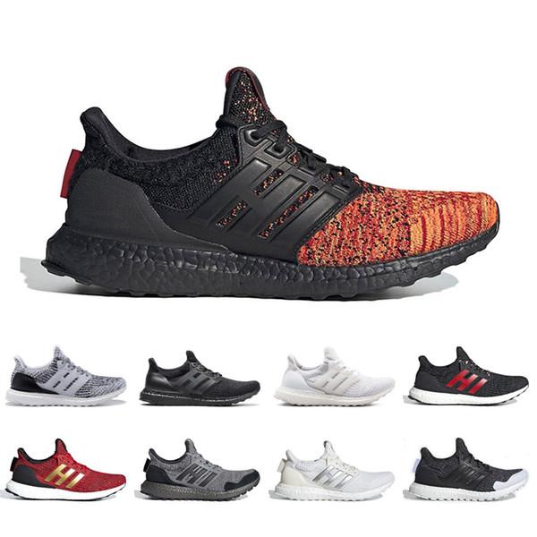 Großhandel Adidas Ultra Boost 3.0 4.0 GAME OF THRONES Ultra Laufschuhe Für Männer Frauen Klassische Walker House Stark Lannister Herren Trainer