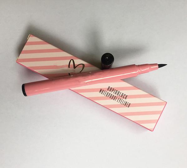 Горячая марка Жидкий водонепроницаемый карандаш для глаз жидкость вкладыша глаза черный гель-карандаш для глаз