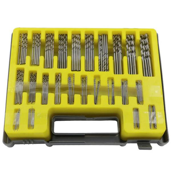 0.4-3.2mm 150Pcs Mini twist drill Bit Kit HSS Micro Precision Twist Drill Carry Case for PCB Crafts Jewelry Drilling Tool XN015