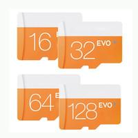 2018 Hot EVO 128GB 64GB 32GB 16GB MicroSDXC UHS-I Card Class 10 Micro SDHC SD TF Memory Card with Adapter Faster Speed