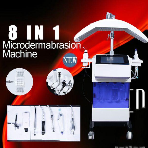 NEWEST Led Light Therapy Acne Treatment Skin Rejuvenation Facial Machine/hydra Water Microdermabrasion Skin Peeling Rf Machine