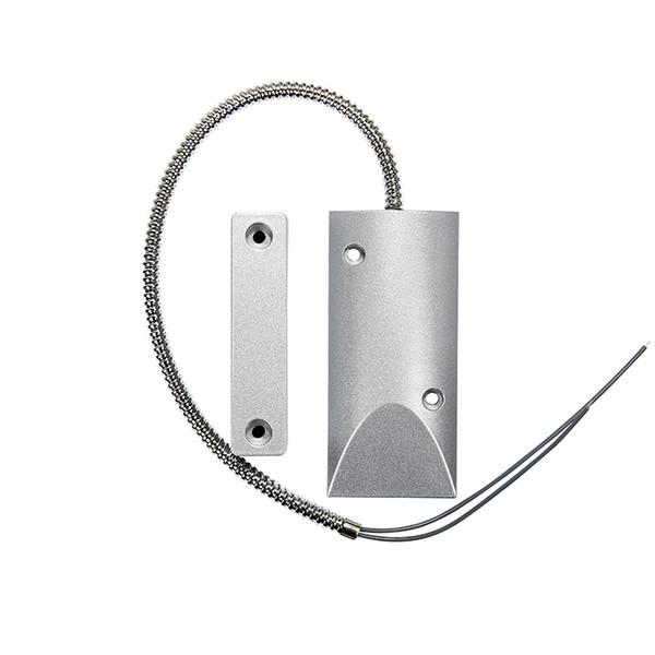 Magnetic Door Sensor Home Security Contact Alarm System Accessories for metal rolling door Fire door monitoring system flexible metal hose