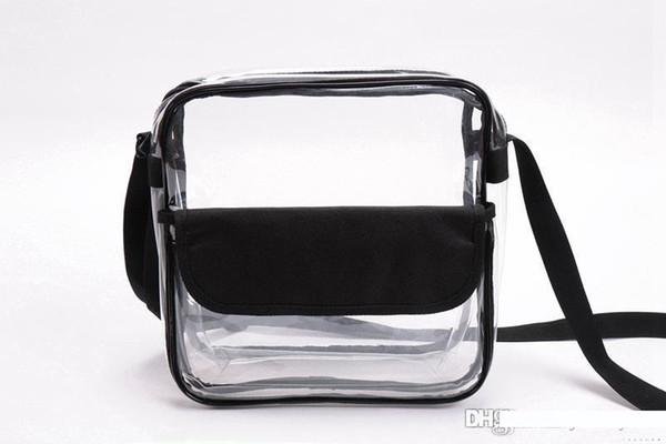 AG9 Yeni Clear Çanta Zipper ve Omuz Kayışı Do Custom Herhangi Boyut herhangi bir renk Çanta Onaylı
