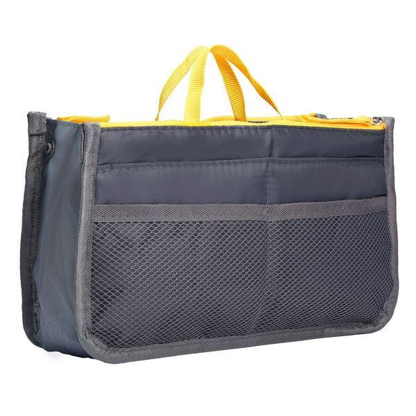 Waterproof Lady Women Cosmetic Makeup Bag Organizer Travel Insert Handbag