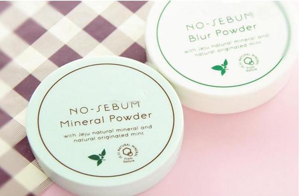 DHL free Korea Famous Brand Innisfree No Sebum Mineral Powder + Blur Powder Oil Control Loose Powder Makeup Setting Foundation 5g