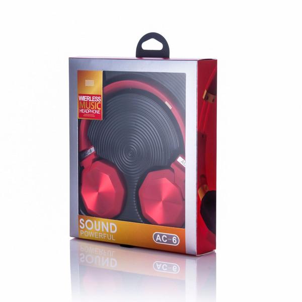 Auriculares inalámbricos inalámbricos sobre la oreja V4.2 Auriculares de reducción de ruido con soporte para micrófono Reproducción de tarjeta FM TF