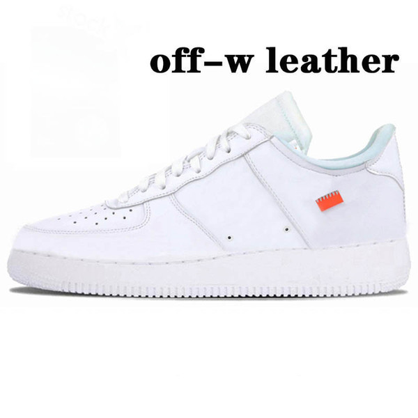 B4 Offf-White White Leather