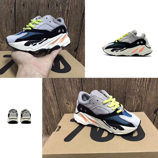 Kids Running Shoes Kanye West Wave Runner 700 Youth Sply 700 Sports Sneakers Children's Basketball Shoes Casual Toddler Shoes