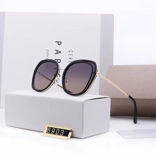 Occhiali da sole unisex classico variopinto alla moda Moda Telaio Occhiali da sole UV400 8903