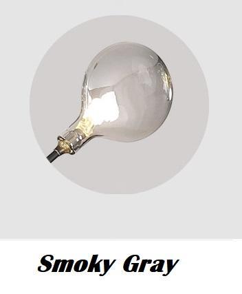 연기가 자욱한 회색 음영