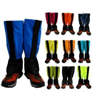 Escursionismo all'aperto a strisce Leg Shoe Cover Neve sci arrampicata impermeabile gambali gambali guardia Gadget esterni AAA1741