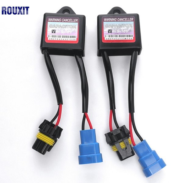 Xenon HID Kit Anti Flicker Error Warning Canceller C6 For H1 H3 H4 on