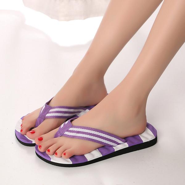 B606 2019 Infradito estivo da donna di alta qualità Colori misti Scarpe Sandali Pantofola Infradito da esterno per interni Sandali antiscivolo