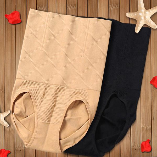 Women High Waist Shapewear Tummy Control Knickers Briefs Body Shaper Beauty Care Slimming Breathable Panties