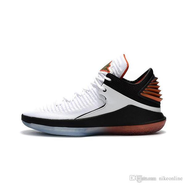 Bon marché 2018 nouvelles chaussures de basketball Jumpman XXXII 32s Gatorade Like Mike blanc rouge vert Westbrook AJ32 baskets pour hommes avec boîte d'origine