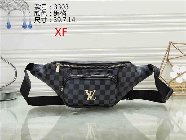 New Brand Designers Pu Waist Bags Women Bags Bum Bag Belt Bag Men Women Money Phone Handy Waist Purse Solid Travel Bag