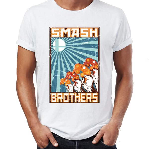 T-shirt pour hommes Super Smash Bros Controller Gaming Awesome Tee
