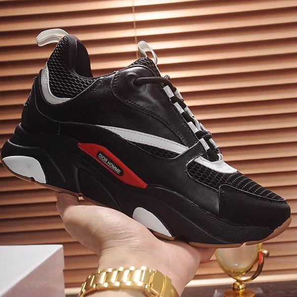 Scarpe sportive uomo Lace-Up 2019 Sneakers uomo Primavera Autunno Moda traspirante Comode scarpe maschili B22 Sneaker in maglia tecnica