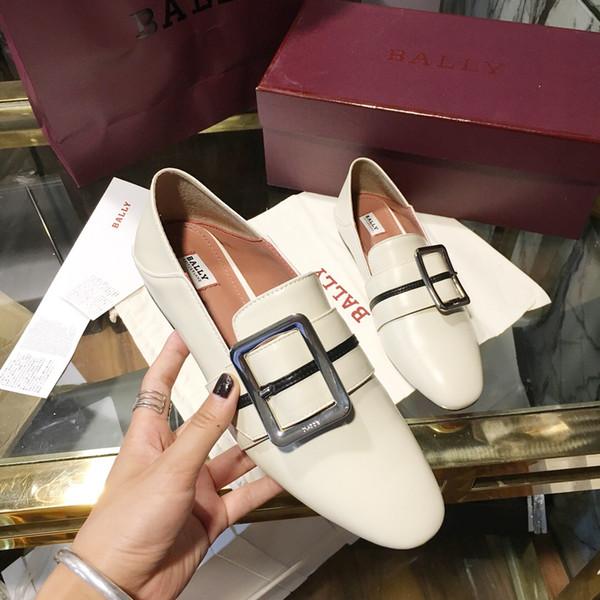 Compre Top Marca De Lujo Británica Zapatos Oxford Planos Mujer Belleza Arco Decorar Alpargatas Mujer Mocasines Otoño Dedo Del Pie Puntiagudo Zapatos