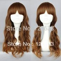 "Wholesale Hair Nature Cheap 100% Kanekalon Cheap 28"" Long Multi-Color Beautiful lolita wig Anime Wig virgin pad"