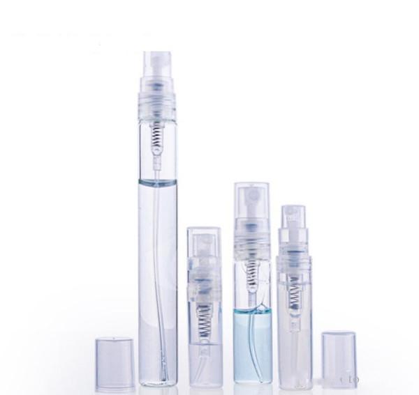 2ml 3ml 5ml 10ml plastic/Glass Perfume Bottle, Empty Refilable Spray Bottle, Small Parfume Atomizer, Perfume Sample Vials