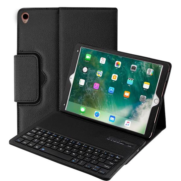 Funda con teclado Bluetooth para Ipad Mini 1234 Air1 2 Ipad 2017 2018 Pro 9.7 10.5 Estuche desmontable magnético extraíble T190710