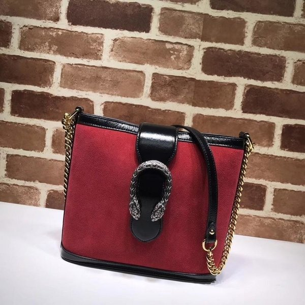 Top Quality Design Letter Buckle Embossing Shoulder Chain Bag Women Genuine Leather 499622 Shopping Tote Bag