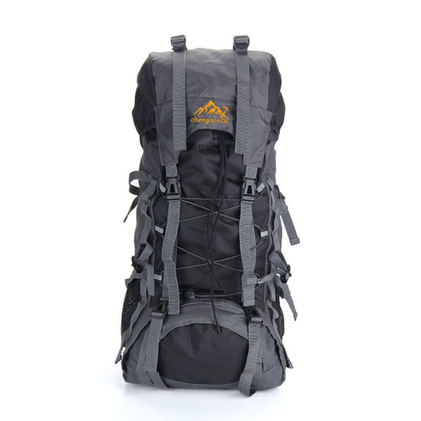 Y0897B 55L Outdoor Sport Backpack Hiking Trekking Bag Camping Travel Water-resistant Pack Mountaineering Climbing Knapsack