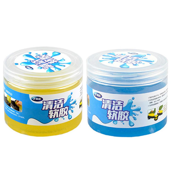 Car Cleaning Glue Slime Jelly Gel Compound Dust Wiper Cleaner Laptop Pc Computer Keyboard Car Interior Cleaner Accessories Black Car Care Products Buy