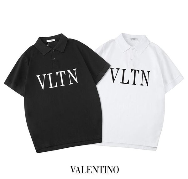 VETEMENTS kanye west polos shirt fashion soild color with label fashion brand polos I FEEL PABLO GOD mens designer polos