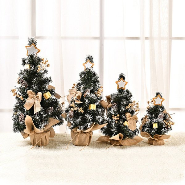 Christmas Tree Encryption Type Unique Mini Christmas Tree Festive Party For Home Decorations Kids Gift Artificial