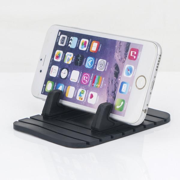 Anti-Slip Car Silicone Pad Telefone Móvel Do Carro GPS de Borracha Fino Dash Board Mount Holder para Smartphones / GPS / PDA