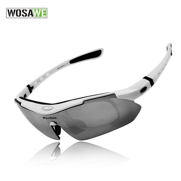 Toptan Polarize Bisiklet Gözlük Açık Spor Bisiklet Gözlük Bisiklet Güneş Gözlüğü TR90 Gözlük Bisiklet Gözlük 5 Lens