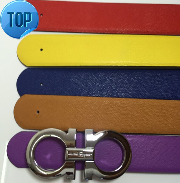 Epsom BELT Belt Cool Belts for Men Women belts Shape Metal strap Ceinture Buckle Togo Epsom REVERSIBLE Big buckle