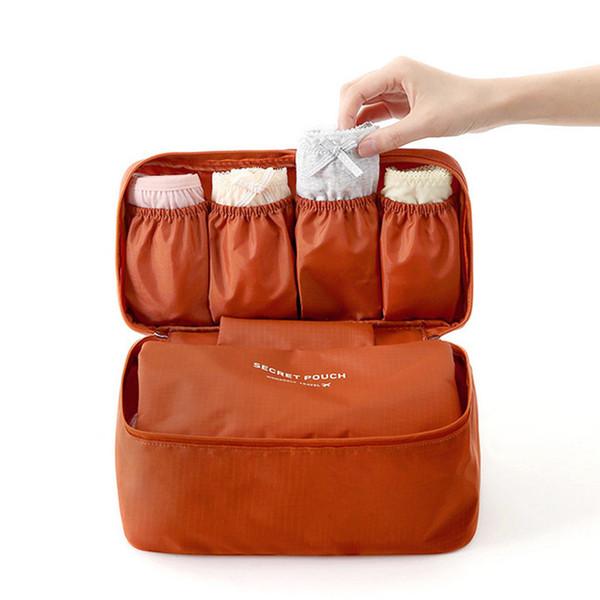 Women's Storage Bag Travel Necessity Accessories Underwear Clothes Bra Organizer Cosmetic Makeup Pouch Case lp0046