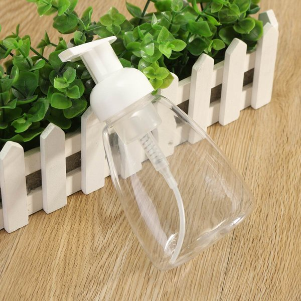 20pcs Clear Plastic 300ML Foaming Bottle Liquid Soap Whipped Mousse Points Bottling Shampoo Lotion Shower Gel Foam Pump Bottles